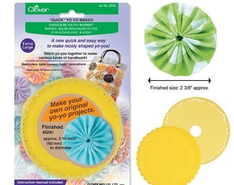 Quick Yo-yo Maker Extra Large - Clover 8703