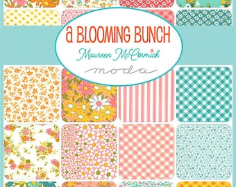 A Blooming Bunch by Maureen McCormick - Pre-Cuts and Yardage - Jelly Roll - Charm - Layer Cake