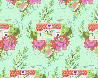 HomeMade by Tula Pink for Free Spirit - Pedal to the Metal - Morning - Cotton Quilt Fabric - Choose Your Size