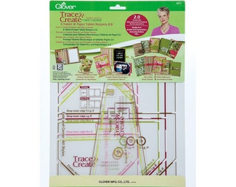 CLOVER - Trace 'n Create Templates E-Tablet & Paper Tablet Keepers 2.0-  #9577