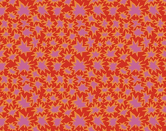 Kaffe Fassett Collective Spring 2019 by Brandon Mably for Free Spirit - Bang - Red - Cotton Quilt Fabric - Choose your Size K