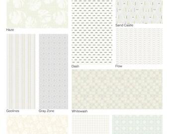 PRE-ORDER Low Volume Wind Mod Cloth Fat Quarter Bundle by Sew Kind of Wonderful - 10 prints - Ships May 2021