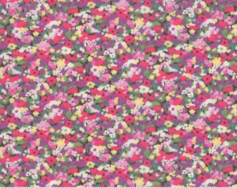 Regent Street Lawn 2019 by Moda - Chiswick - Chocolate - Brown - Cotton Quilt Fabric - Choose Your Size