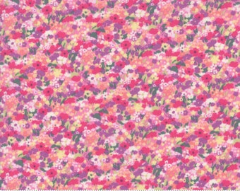 Regent Street Lawn 2019 by Moda - Chiswick - Pink - Cotton Quilt Fabric - Choose Your Size