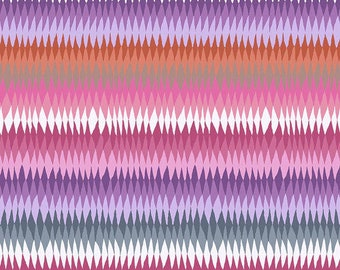 Kaffe Fassett Collective Stash for Free Spirit - Diamond Stripe - Pastel - GP170 - 100% Cotton Quilt Fabric - Choose your Size K