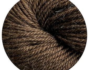 canoe weepaca by Big Bad Wool - light worsted yarn - 50% fine washable merino and baby alpaca - 95 yards