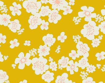 """108"""" Whatnot by Rashida Coleman Hale of Ruby Star for Moda - Goldenrod - RS11171 12 - 1/2 Yard - 100% Cotton Quilt Back Fabric - Sateen"""