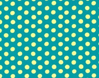 Kaffe Fassett - Spots - Teal - GP70 - Quilt Fabric - Select a Size - 100% Cotton Quilt Fabric K