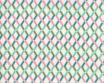 SALE Rosa by Crystal Manning for Moda - Weave - Eggshell - Cotton Quilt Fabric - Choose your Size