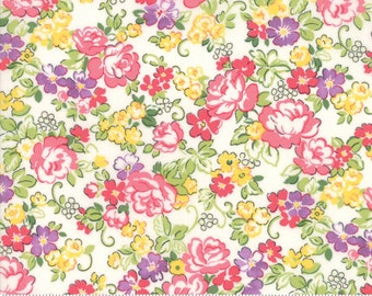 Regent Street Lawn 2018 by Moda - Hampton Court - Ivory - Cotton Quilt Fabric 2020