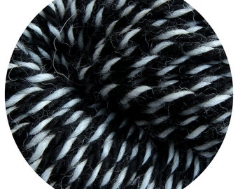 skunky weepaca by Big Bad Wool - light worsted yarn - 50% fine washable merino and baby alpaca - 95 yards