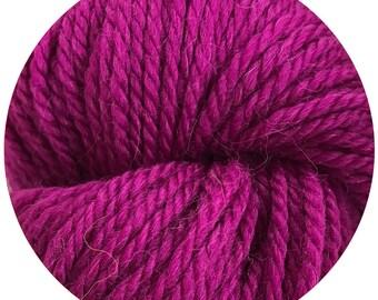 beets weepaca by Big Bad Wool - light worsted yarn - 50% fine washable merino and baby alpaca - 95 yards