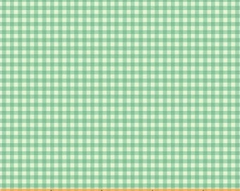 Trixie by Heather Ross for Windham Fabrics - 50900-8 - Gingham - Aqua - Cotton Quilt Fabric - Choose Your Size 2020