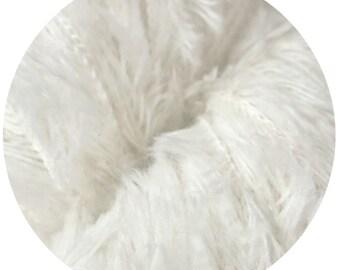 baby yeti by Big Bad Wool - bleach white baby yeti - chunky yarn - baby alpaca and fine merino - 109 yards