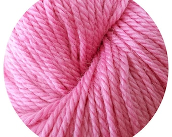 piggy weepaca by Big Bad Wool - light worsted yarn - 50% fine washable merino and baby alpaca - 95 yards