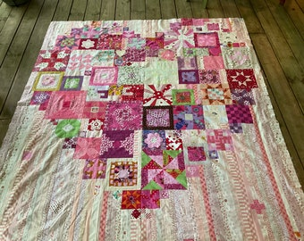 Boho Heart Quilt Kit by Jen Kingwell and Andrea Bair