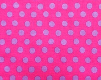 Kaffe Fassett - Spots GP70 Shocking - Quilt Fabric - Select a Size - Fat Quarter Yard Cotton Quilt fabric K
