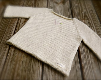 V for Vivi Sweater Knitting Pattern by Big Bad Wool - PDF Download