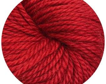 ho ho ho weepaca by Big Bad Wool - light worsted yarn - 50% fine washable merino and baby alpaca - 95 yards