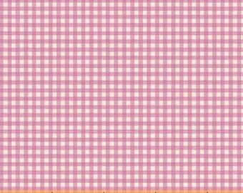 Trixie by Heather Ross for Windham Fabrics - 50900-5 - Gingham - Light Purple - Cotton Quilt Fabric - Choose Your Size 2020