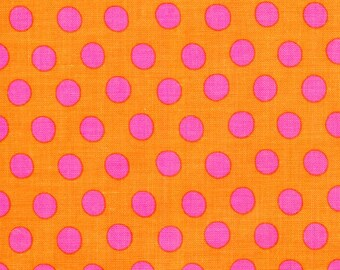 Kaffe Fassett - Spots GP70 Peach - Quilt Fabric - Select your Size - 100% Cotton Fabric - Choose Your Size - K
