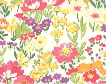 Regent Street Lawn 2018 by Moda - English Garden - Ivory - Cotton Quilt Fabric 2020