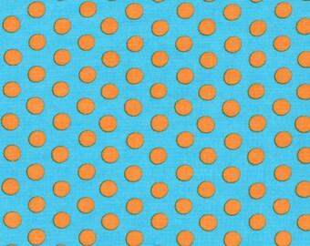 Kaffe Fassett - Spots GP70 Turquoise - Quilt Fabric - Select a size - Fat Quarter Yard Cotton Quilt fabric K