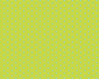 True Colors - Tula Pink - Hexy - Chameleon - Fat Quarter or Yardage Cotton Quilt Fabric
