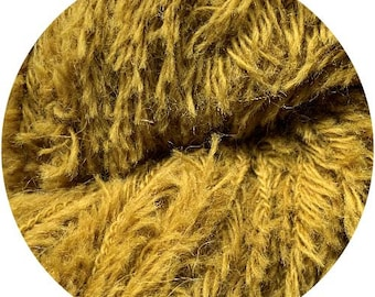 pea soup baby yeti by Big Bad Wool - chunky yarn - baby alpaca and fine merino - 109 yards