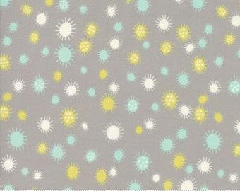 SALE Flour Garden by Linzee Kull McCray for Moda - Pollen - Geode Grey - 100% Cotton Quilt Fabric - Choose your Size
