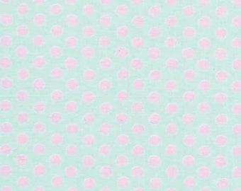 Kaffe Fassett - Spots GP70 Soft Blue - Quilt Fabric - 1/2 Yard Cotton Quilt fabric K