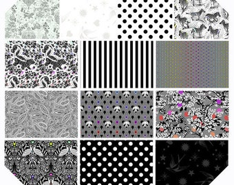 Linework by Tula Pink 13 prints - Pre-Cuts and Yardage