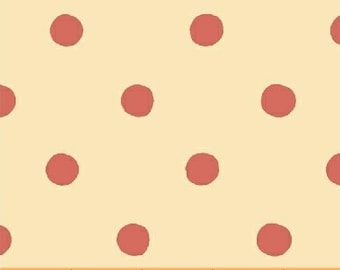 Sugarplum by Heather Ross for Windham Fabrics - Spot - Red - 50169-4 - 1/2 Yard Cotton Quilt Fabric K