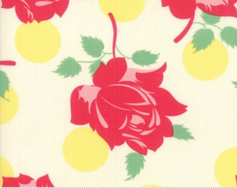 SALE Cheeky by Urban Chiks for Moda - Swell - Buttercup - Light Yellow - Sweet Cream - 100% Cotton Quilt Fabric - Choose your Size