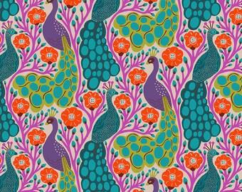 Homeward Monika Forsberg Anna Maria's Conservatory Free Spirit - Proud Tropical MF012 - Cotton Quilt Fabric - Fat Quarter FQ BTHY Yard
