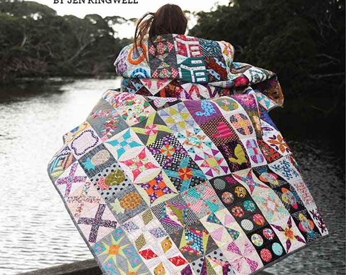 Featured listing image: Dear Jen by Jen Kingwell Starter Bundle Quilt Kit