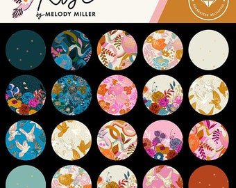 Rise by Melody Miller of Ruby Star Society for Moda - Pre-Cuts - 1/2 Yard bundle, FQ bundle, Charm, or Junior Layer Cake