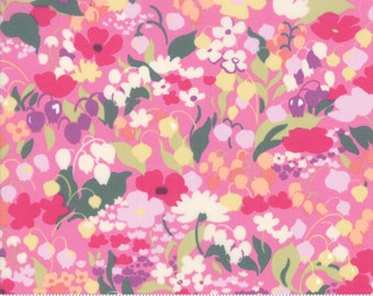 Regent Street Lawn 2019 by Moda - Chelsea - Pink - Cotton Quilt Fabric - Choose Your Size