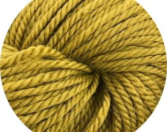 pea soup weepaca by Big Bad Wool - light worsted yarn - 50% fine washable merino and baby alpaca - 95 yards