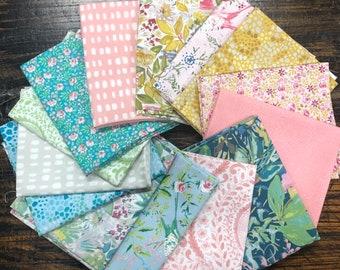 Adelaide Grove by Dena Designs for Free Spirit Fabrics - Fat Quarter Bundle - 14 prints - Cotton Quilt Fabric