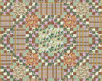 Earth Made Paradise Quilt Kit by Kathy Doughty Free Spirit Fabrics