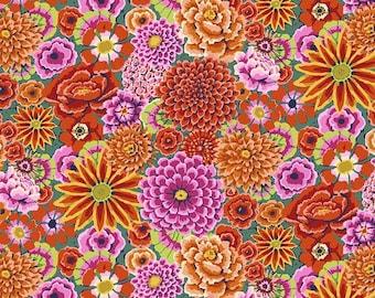 Kaffe Fassett Collective - Enchanted Red - GP172 - FQ Fat Quarter BTHY Yard cotton quilt fabric 1021