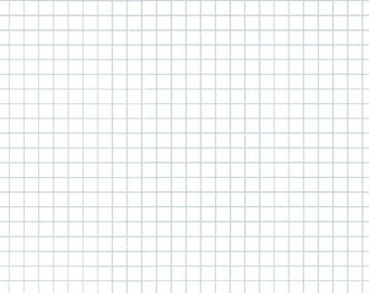 Jot By Heather Givens Crimson Tate Graph Paper 50458-9 - 100% Cotton Quilt Fabric - FQ Fat Quarter BTHY Yard 1021