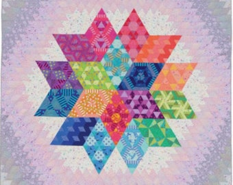 Nebula BOM Quilt Kit by Tula Pink and Jaybird Quilts - Free Shipping in the US