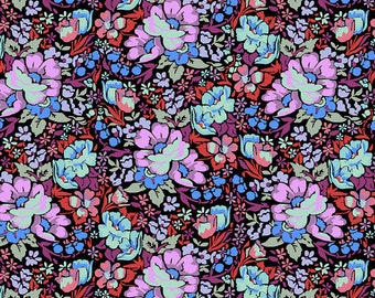 Love Always by Anna Maria Horner for Free Spirit - Overachiever - Velvet - PWAH083 - Select a Size - Cotton Quilt Fabric