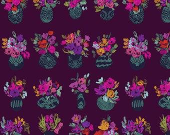 Flower Market by Courtney Cerruti - Anna Maria's Conservatory Free Spirit - Bouquets D'Art - Morning - FQ BTHY Yard-Cotton Quilt Fabric 9-21