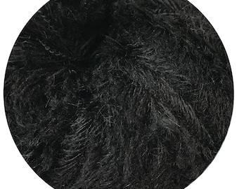 baby yeti by Big Bad Wool - night owl baby yeti - chunky yarn - baby alpaca and fine merino - 109 yards