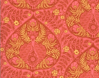 SALE Kasada by Crystal Manning for Moda - Plume - Pink - 11864 12 - Select a Size - Cotton Quilt Fabric K