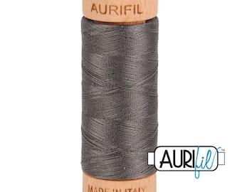 Aurifil Charcoal Grey Cotton Mako Thread - 80wt - 280m - BMK80 2630