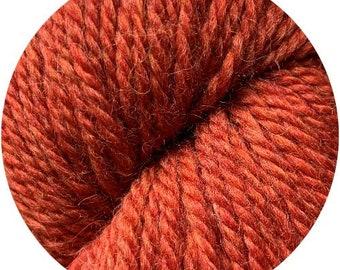 copper penny weepaca by Big Bad Wool - light worsted yarn - 50% fine washable merino and baby alpaca - 95 yards